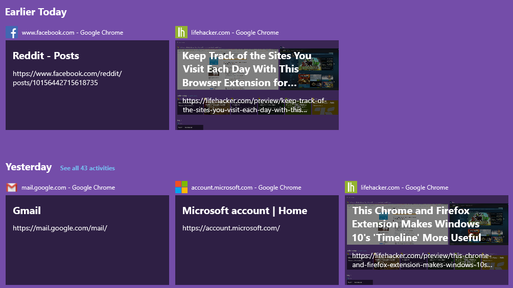 Keep Track Of The Sites You Visit Each Day With This Browser Extension For Windows 10