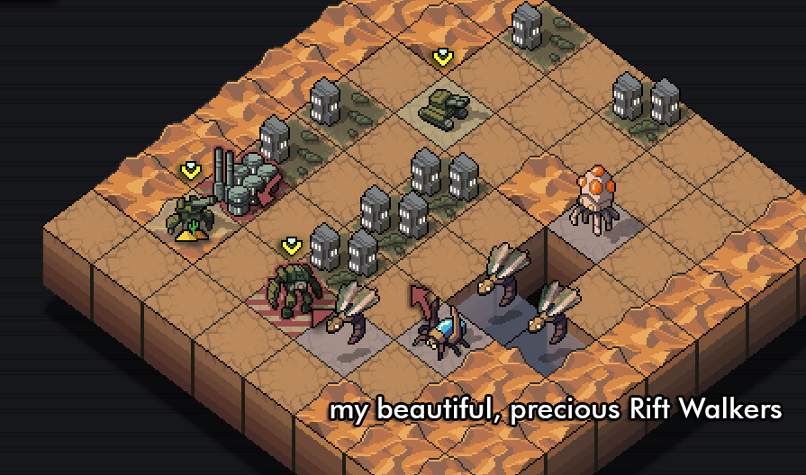 I Can't Let Go Of Into The Breach's Starter Squad
