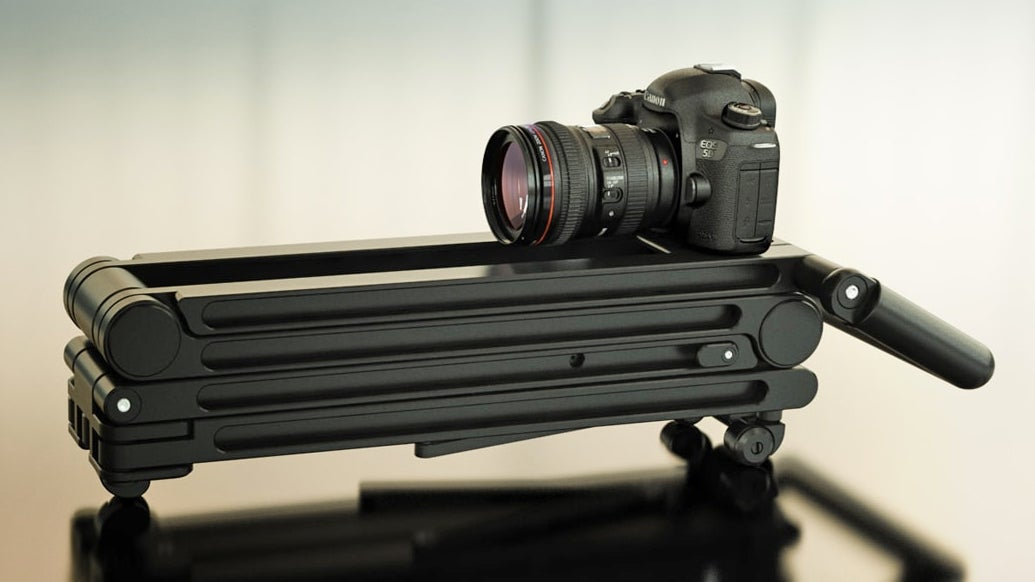 The Future of Tripods Gets Rid of All Those Fiddly Knobs and Buttons