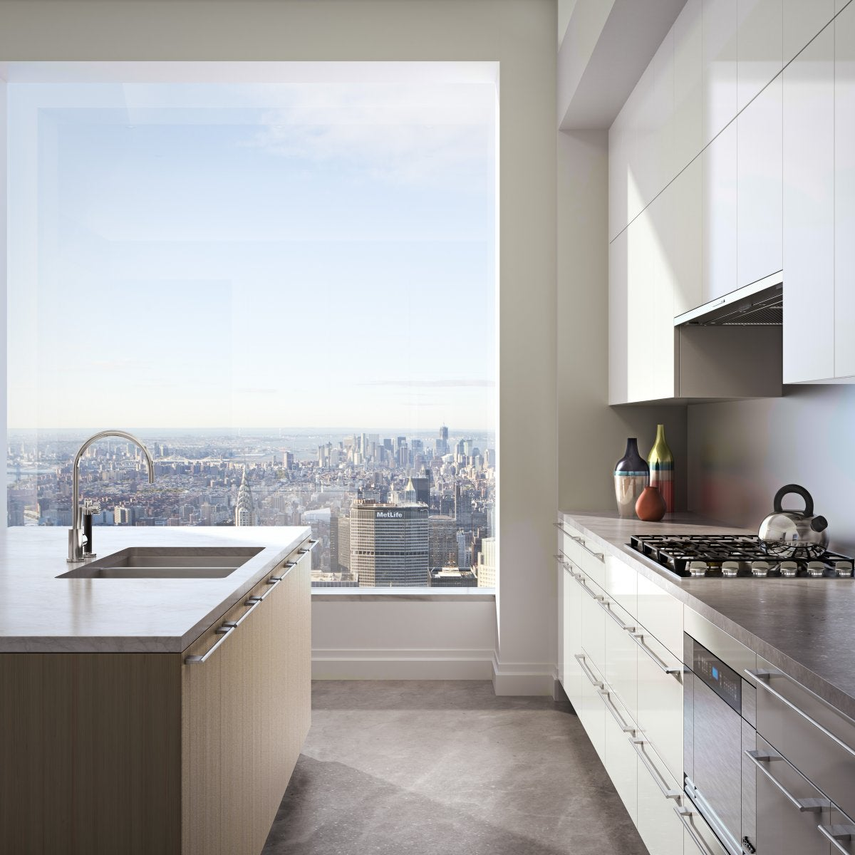 New York Apartment Address: The View From The Top Of NYC's Tallest New Apartment
