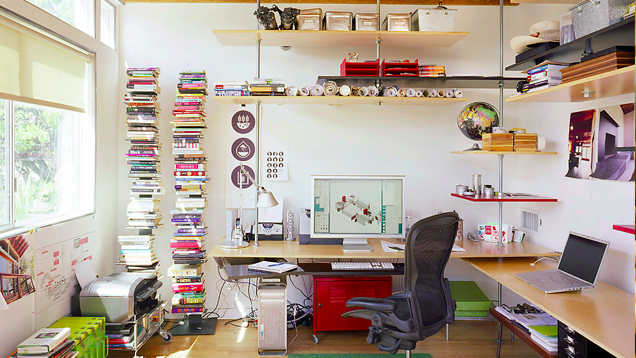 The Floating Shelves Workspace