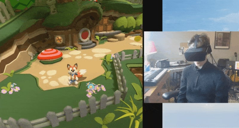 VR Game At A Glance: Leaping And Bounding Through Lucky's Tale