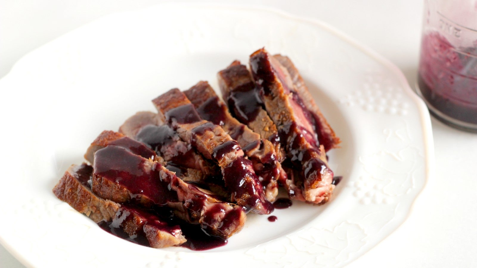 This Blueberry Pan Sauce Is Good On Any Meat