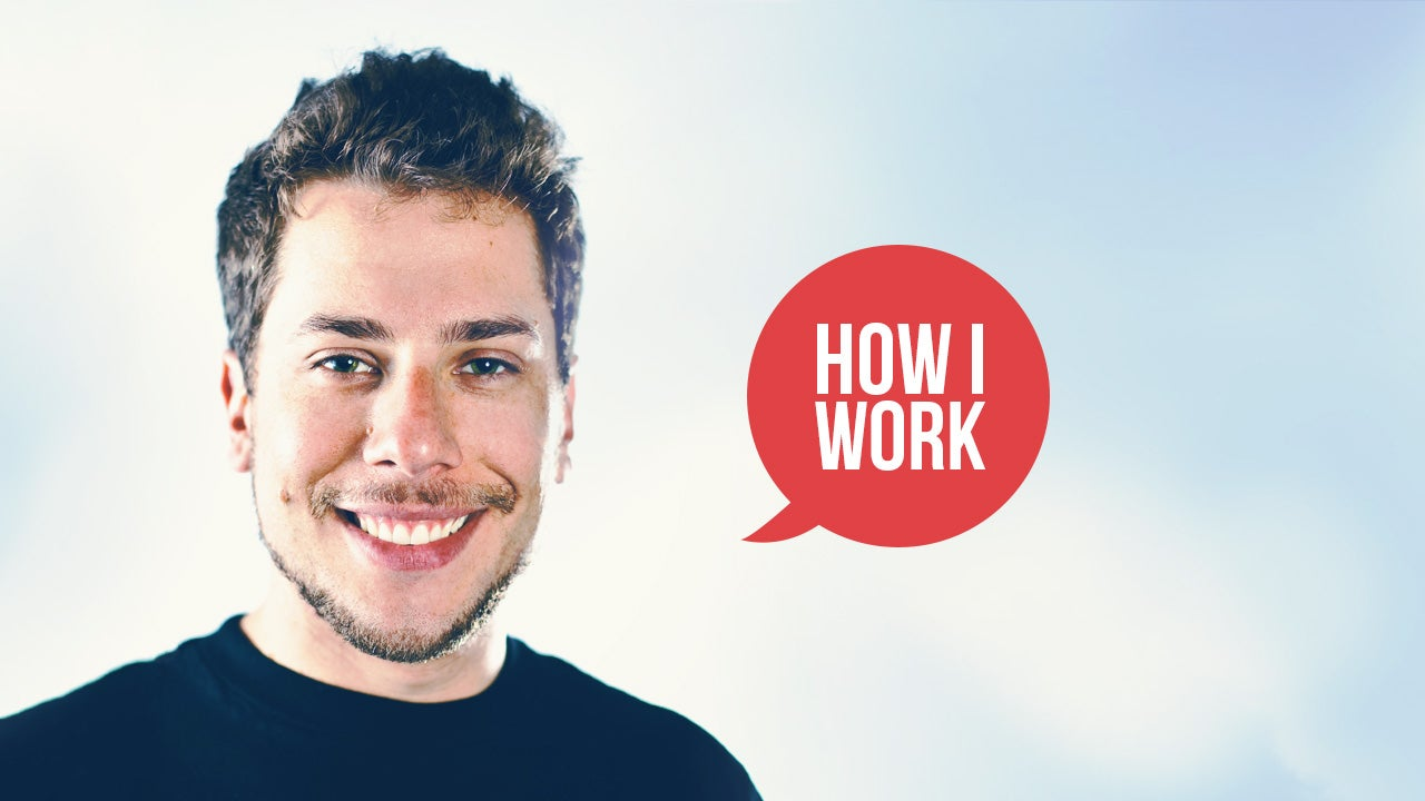 I'm Angelo Sotira, Co-Founder of DeviantArt, and This Is How I Work