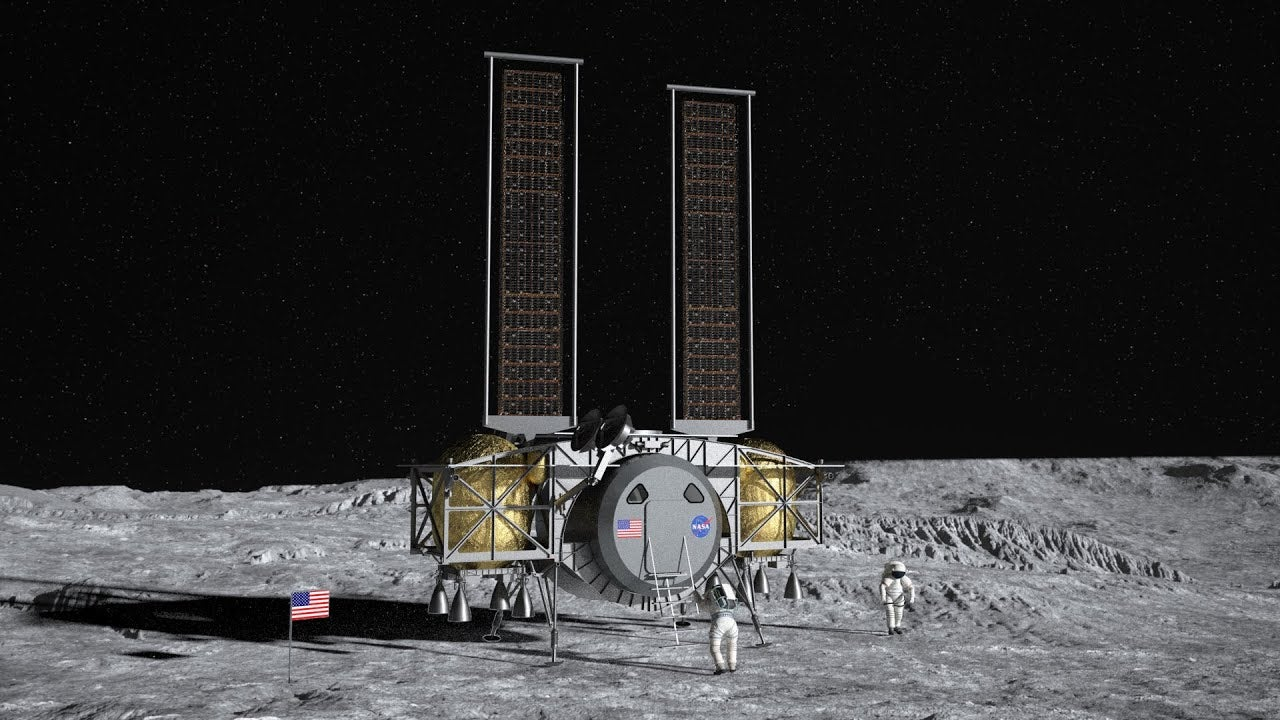 NASA Will Pick One Of These Three Astronaut Lander Concepts For 2024 Moon Mission