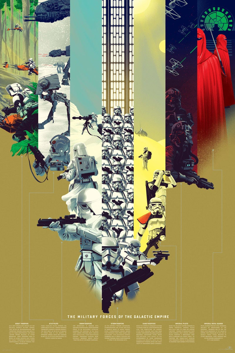 Star Wars, Batman, and the Avengers Get Gorgeous Infographics In a New Show