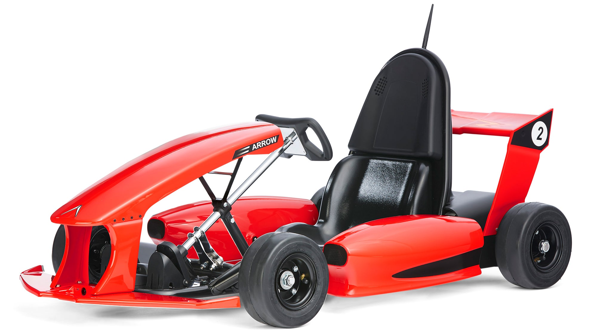 the arrow smart electric go kart is a tesla for nine year. Black Bedroom Furniture Sets. Home Design Ideas