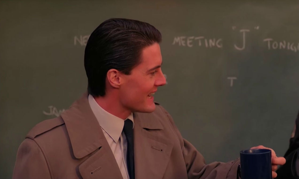 There's A Lot Of Coffee In This Weird, NewTwin Peaks Video