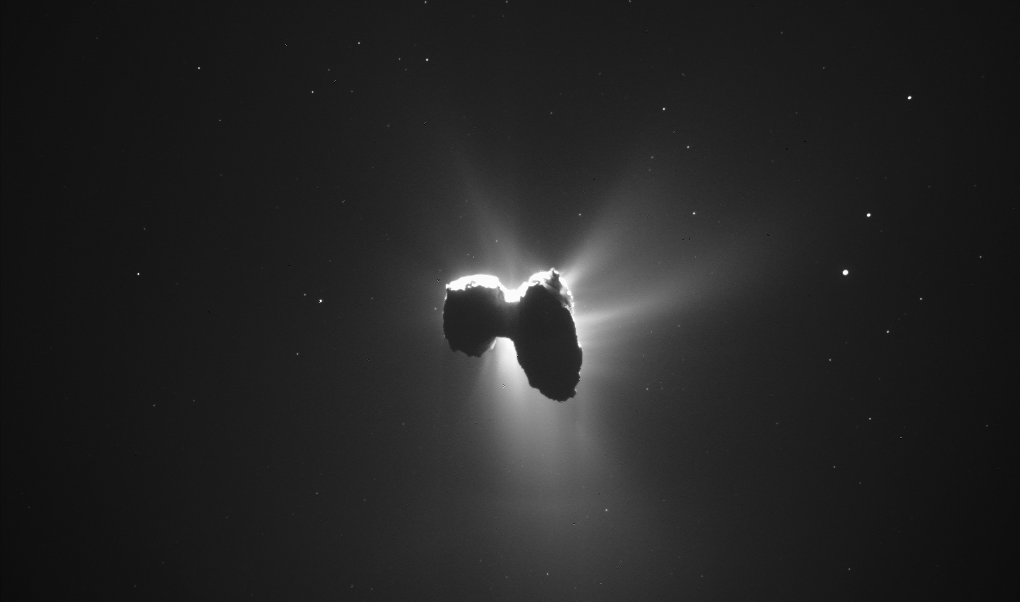 Rosetta Finds Building Blocks For Life On Comet