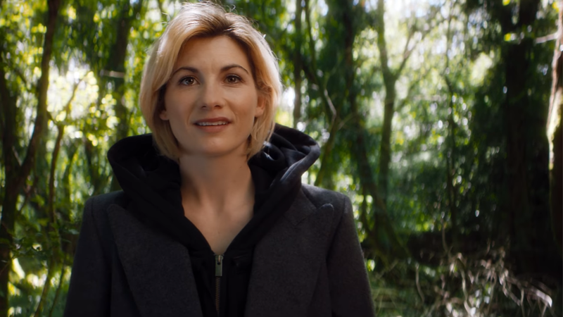You Will Fall In Love With Jodie Whittaker's Reaction To People Already Cosplaying As Her Doctor
