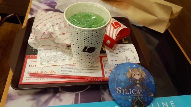 Tokyo Hamburger Restaurant Covered in Anime