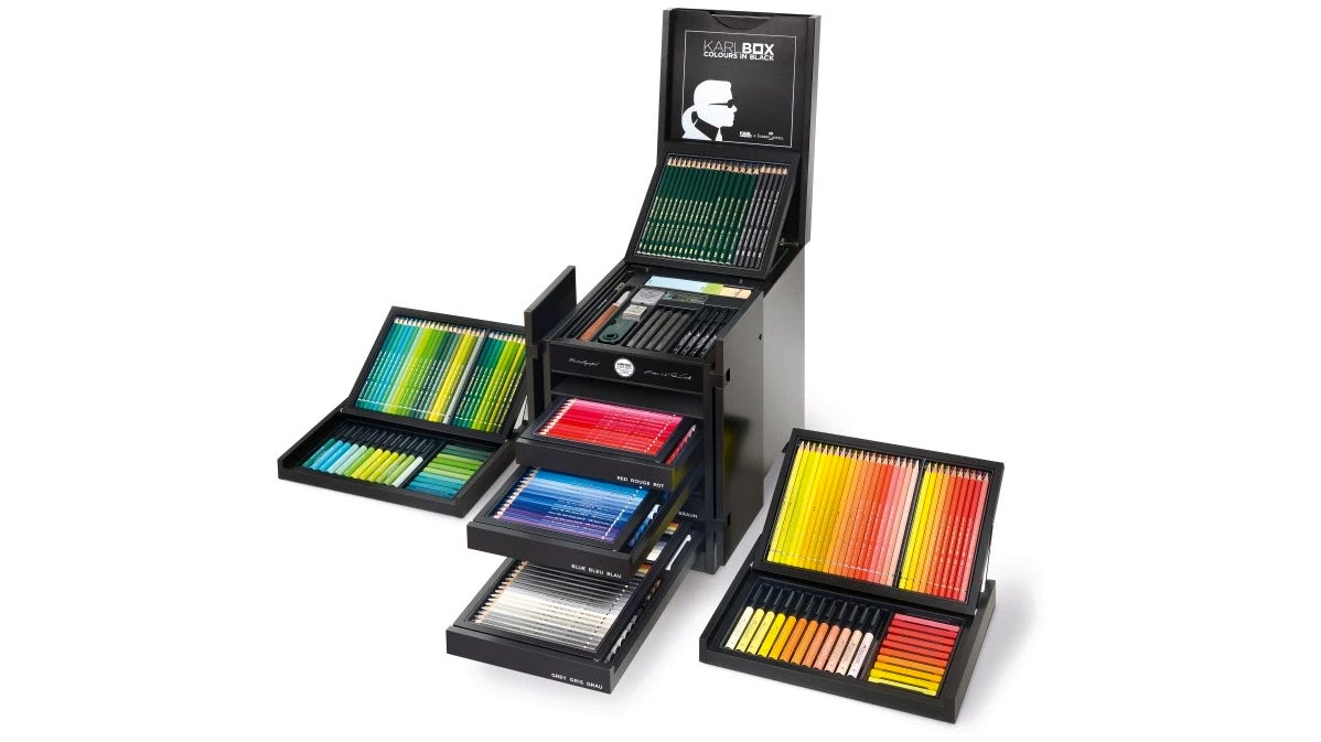 This Is What A $3,000 Box Of Coloured Pencils Looks Like