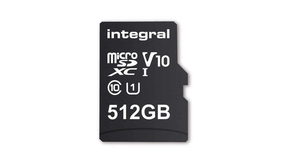 This New Integral Memory 512GB MicroSD Card Is The Biggest On The Market