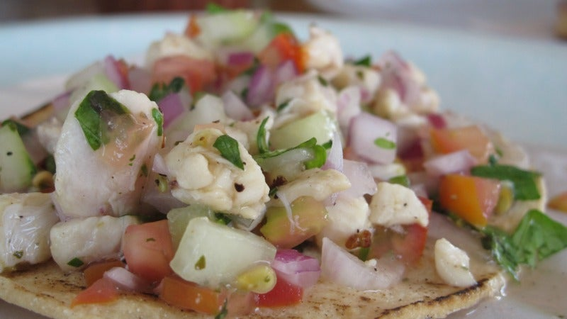 Add Depth of Flavour and Creaminess to Ceviche With Coconut Milk