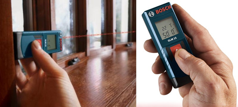 You'll Never Need a Second Person To Use This Tiny Laser Measure
