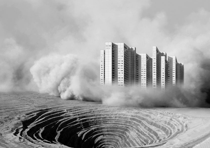 These Surreal Images Envision Nature and Cities Colliding