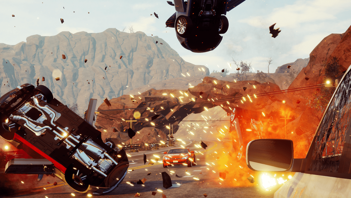 The Original Creators Of Burnout Are Making A New Open-World Racer