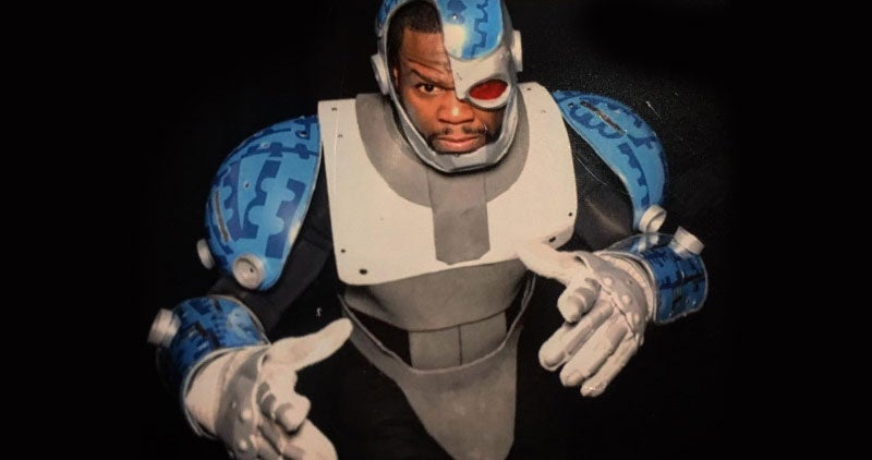 50 Cent ($0.66) Cosplays Teen Titans For His Son's Birthday Party