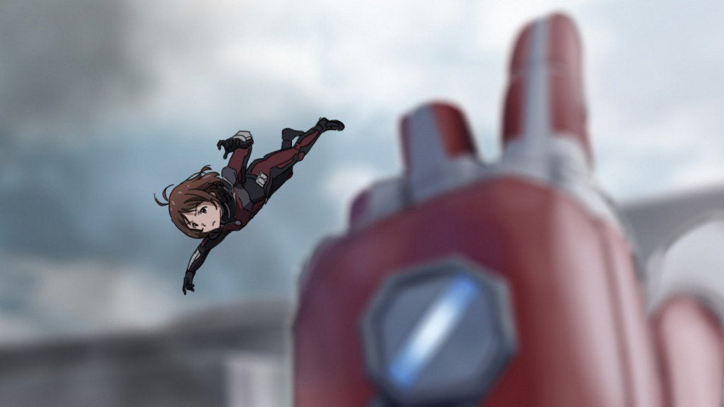 If Marvel's Civil War Starred Anime Girls