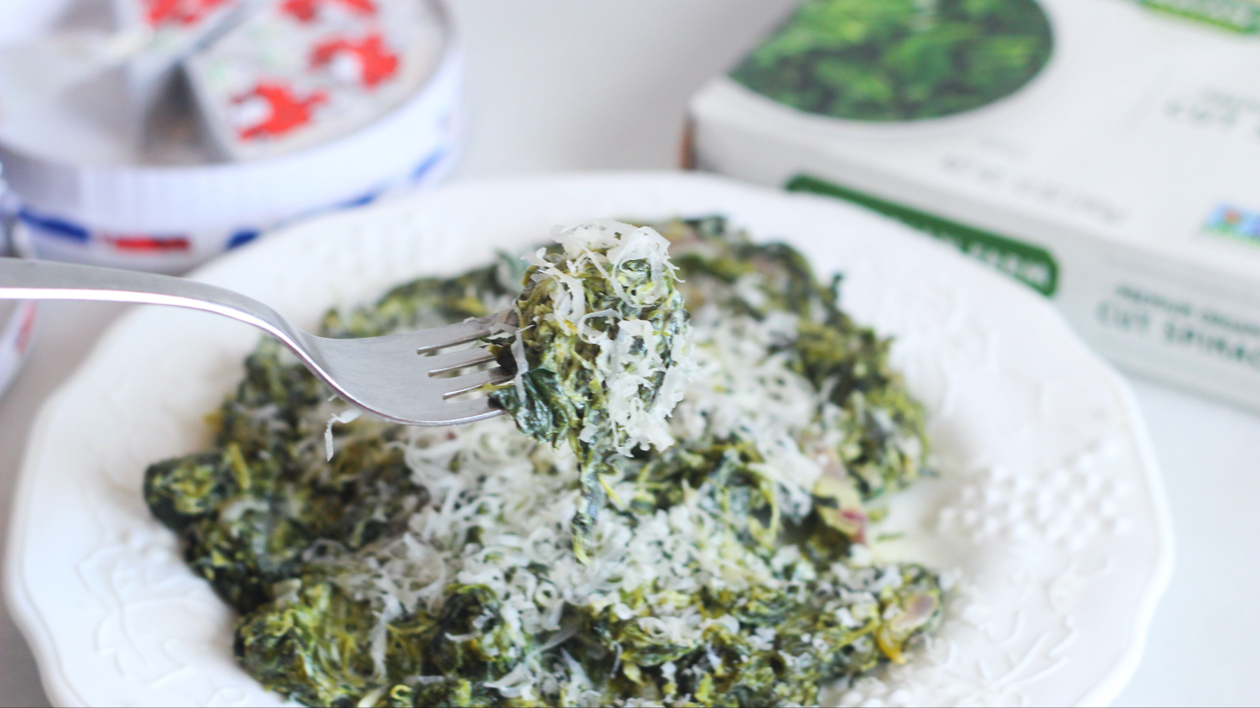 Make Lazy Creamed Spinach With Processed Cheese