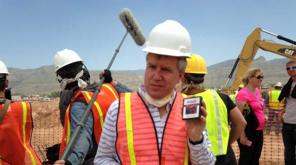 Some People Think The Atari Landfill Dig Is Fake