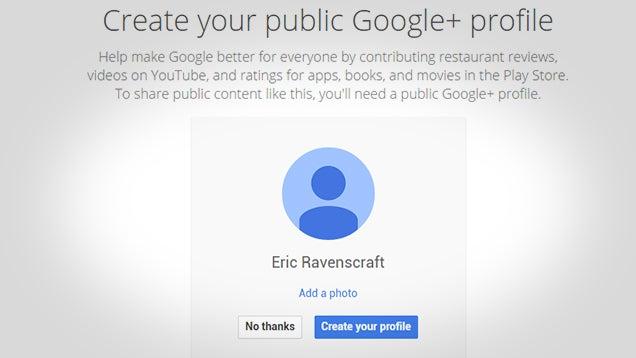 New Gmail Accounts No Longer Require Google+ Profiles