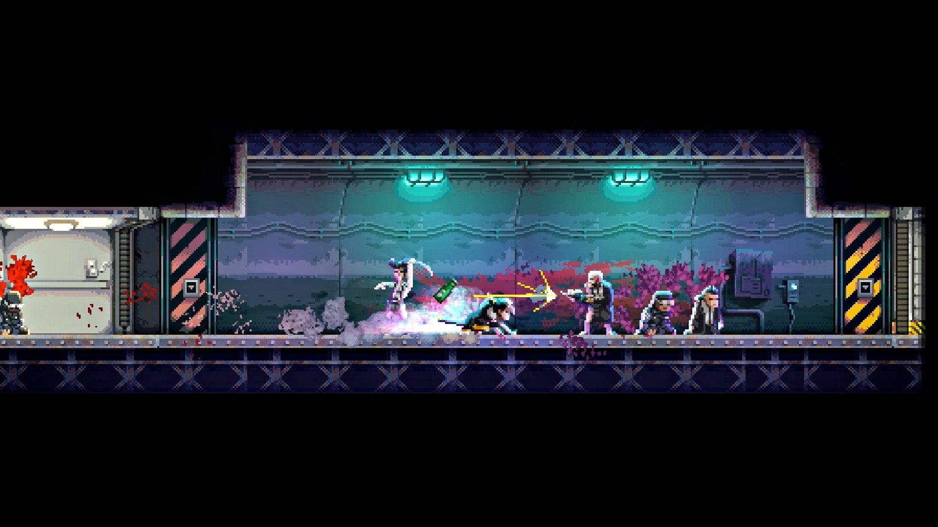 A Cyberpunk Ninja Game Where You Manipulate Time
