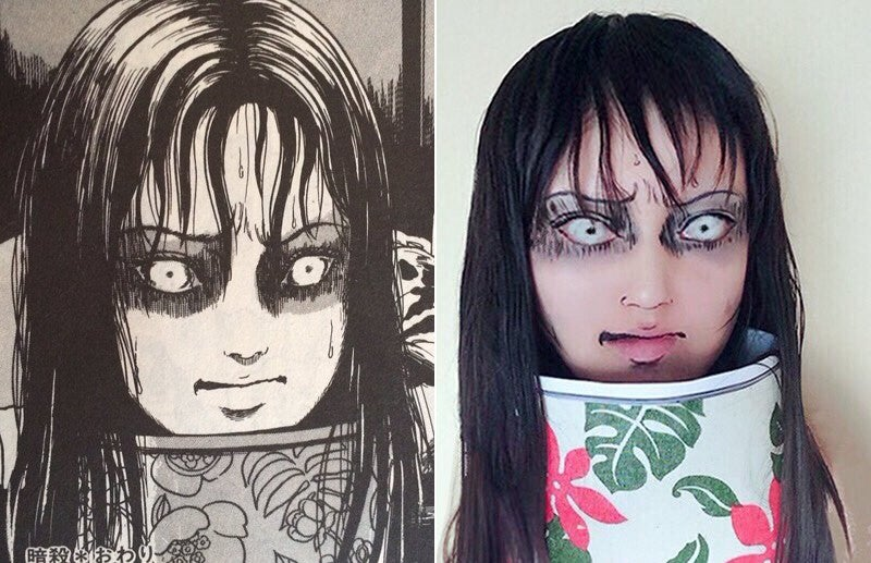 Japan's Scariest Manga Artist Loves Japan's Creepiest Cosplayer