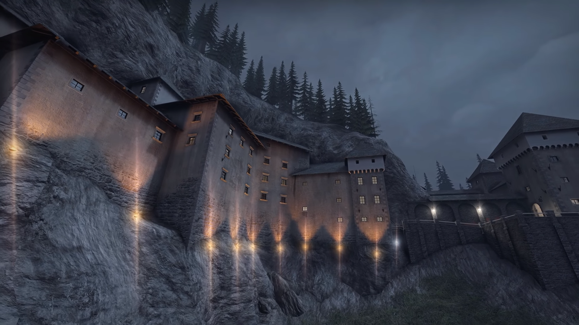CSGO Super Fan Travelled To A European Castle To Compare It To A Popular Map