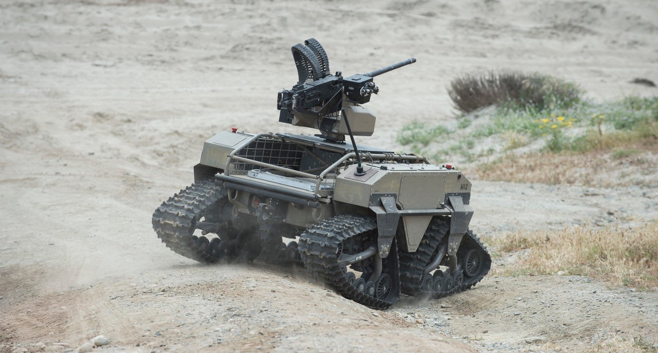 This Machine Gun Robot Will Probably Lead The Uprising One Day