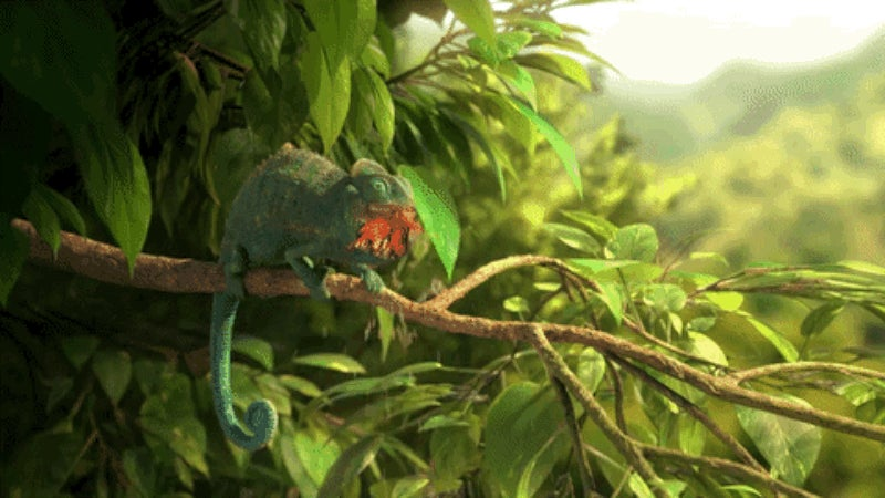 A Chameleon Redefines Gluttony in This Adorably Gross Animated Short