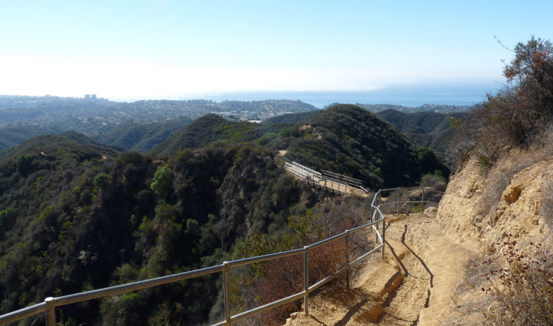 A 108km Hiking Trail Just Opened Through LA's Urban Mountains