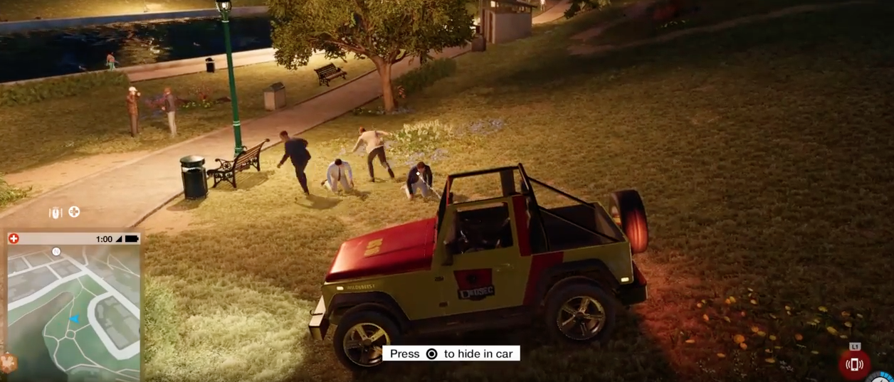 Screeching Jeep In Watch Dogs 2 Scares The Hell Out Of Pedestrians