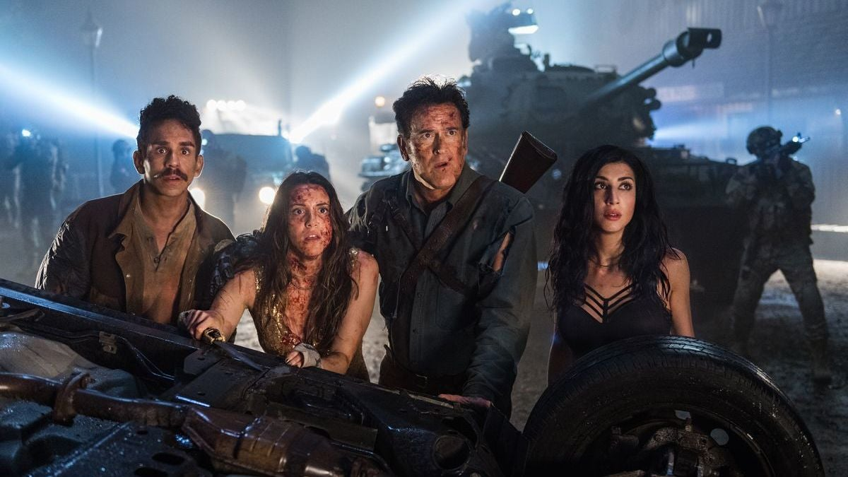 Ash Finds Out He's A Daddy In The First Trailer For Ash Vs. Evil Dead Season Three
