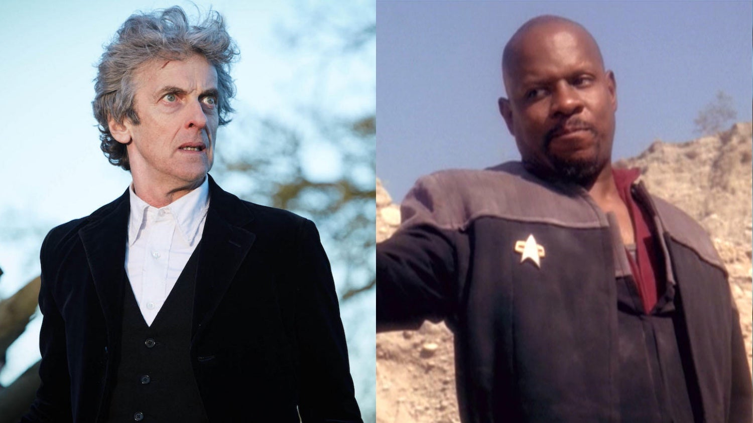 Peter Capaldi Auditioned For Captain Sisko On Deep Space Nine