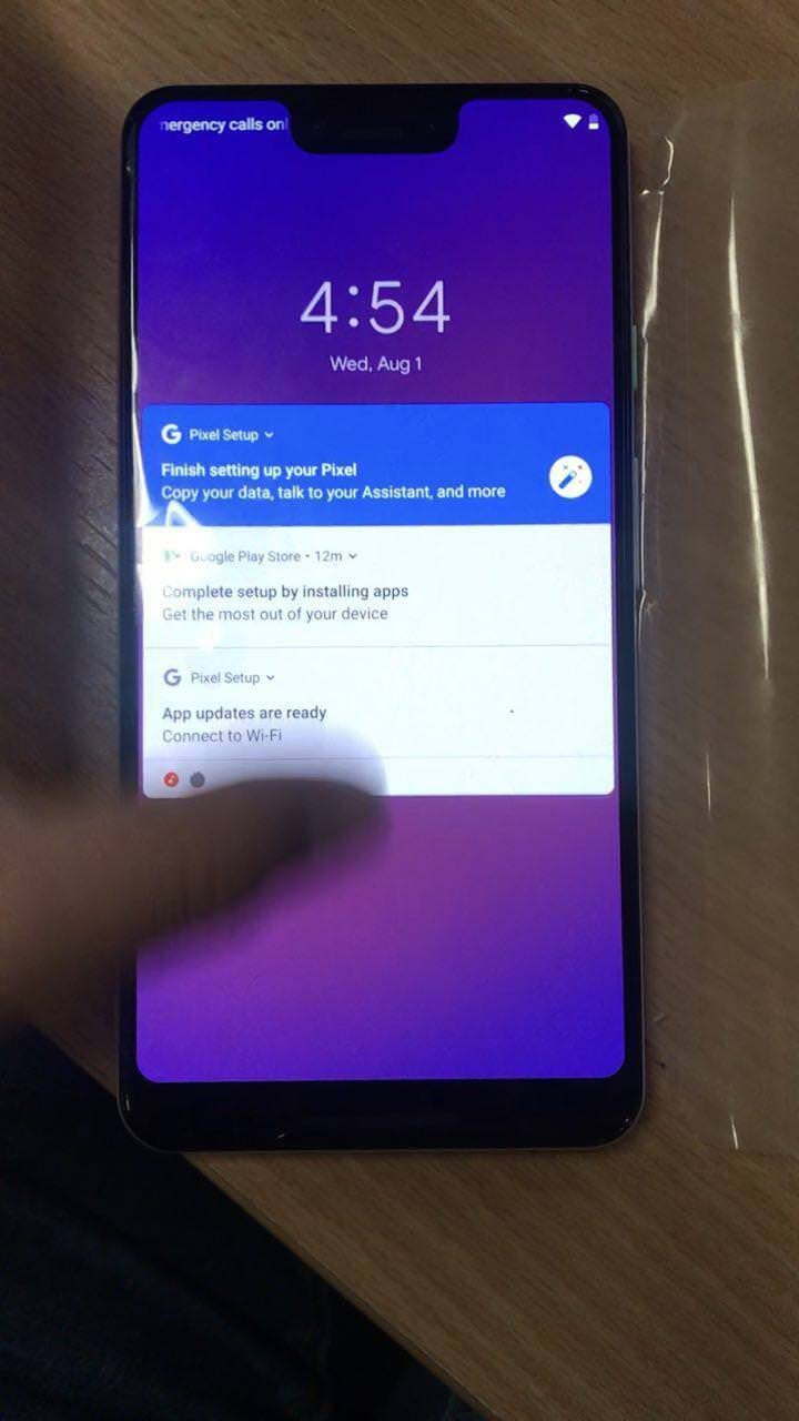 If This Leak Is Legit, The Pixel 3 XL Will Be Google's Ugliest Phone