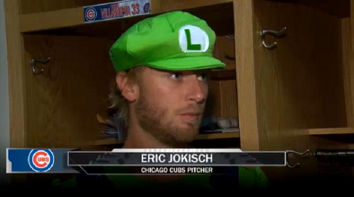 Cubs Rookie Pitcher Made To Dress Like Luigi