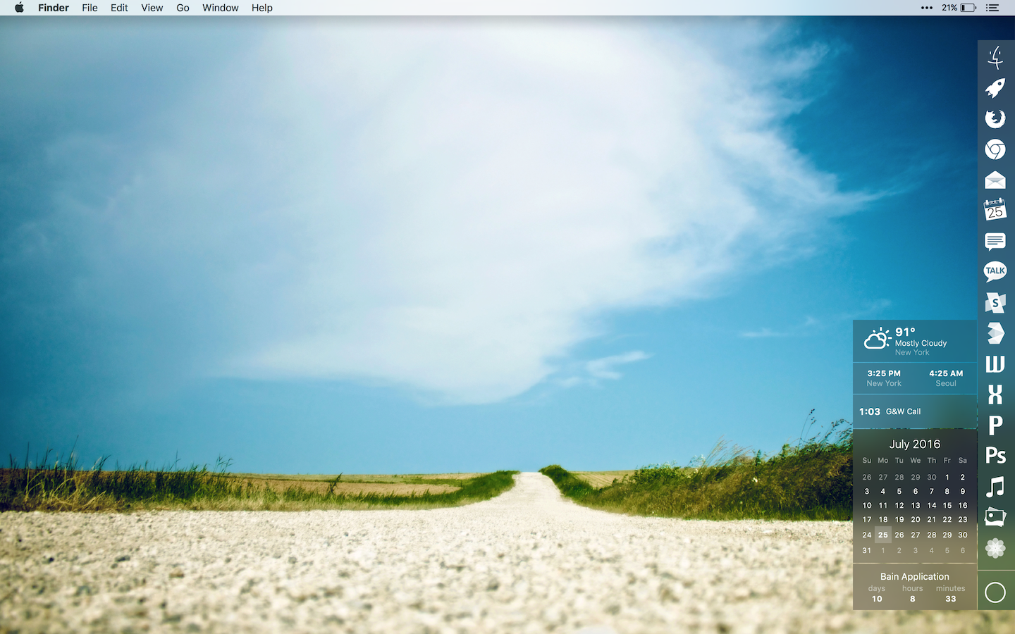The Long Road Ahead Desktop