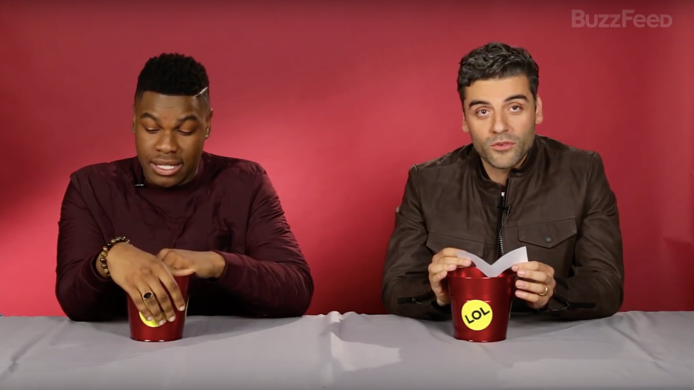 John Boyega And Oscar Isaac Know All The Naughty Things You've Been Thinking About Them