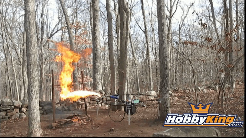 This Flamethrower-Equipped Drone Looks Like a Legal Nightmare