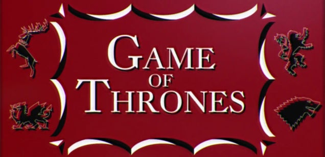1960s version of Game of Thrones' opening credits is perfectly retro