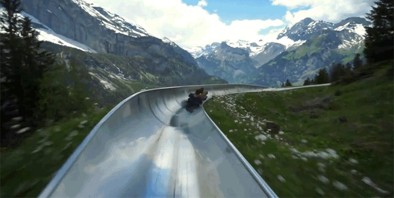 Racing Down a Stunning Alpine Coaster Reminds Me to Never Grow Up