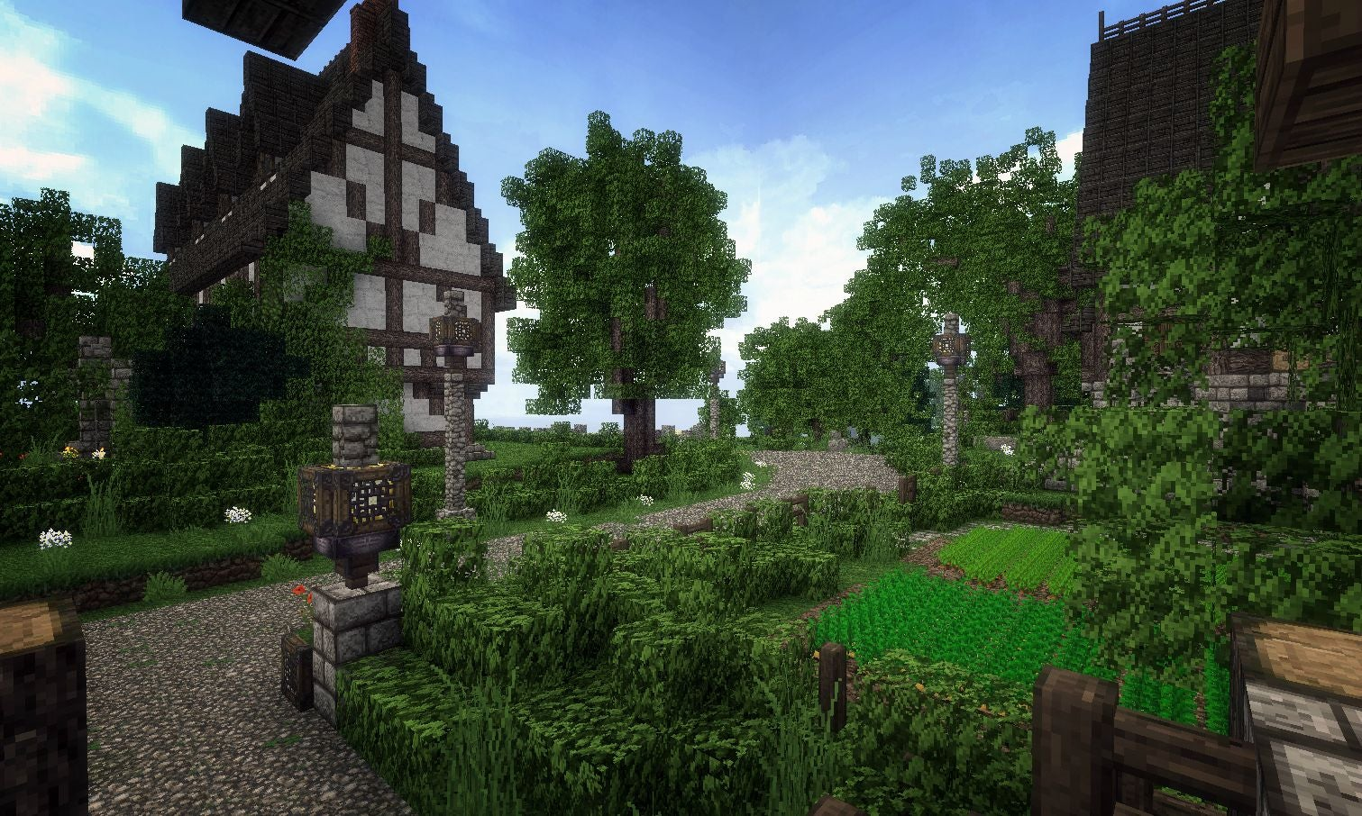 Beautiful Minecraft Village Helps Soldier Deployed in Afghanistan
