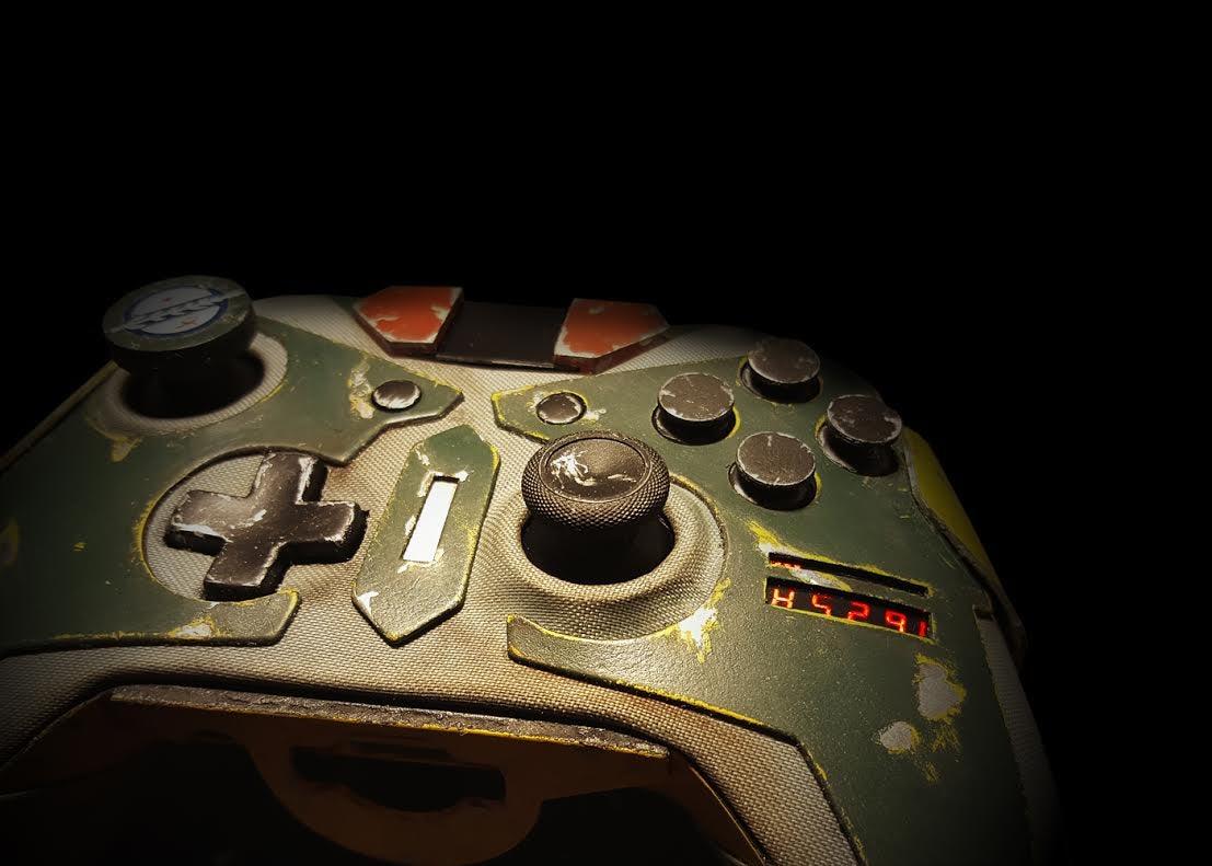 Look At This Boba Fett Controller
