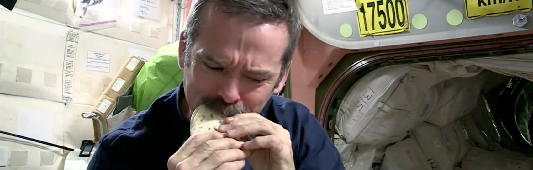 Why astronauts eat tortillas in space explained in one comic