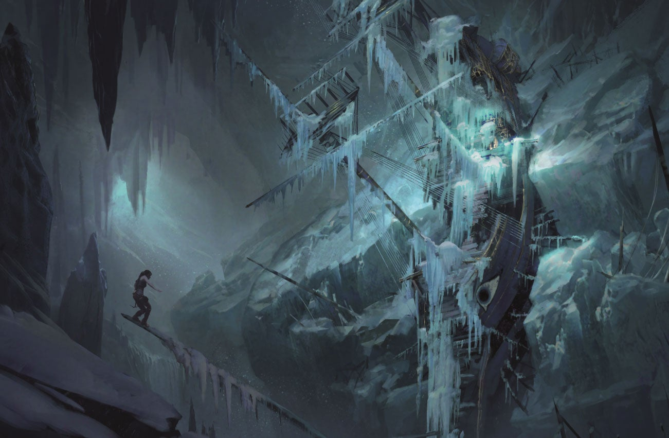 The Concept Art Behind Rise Of The Tomb Raider