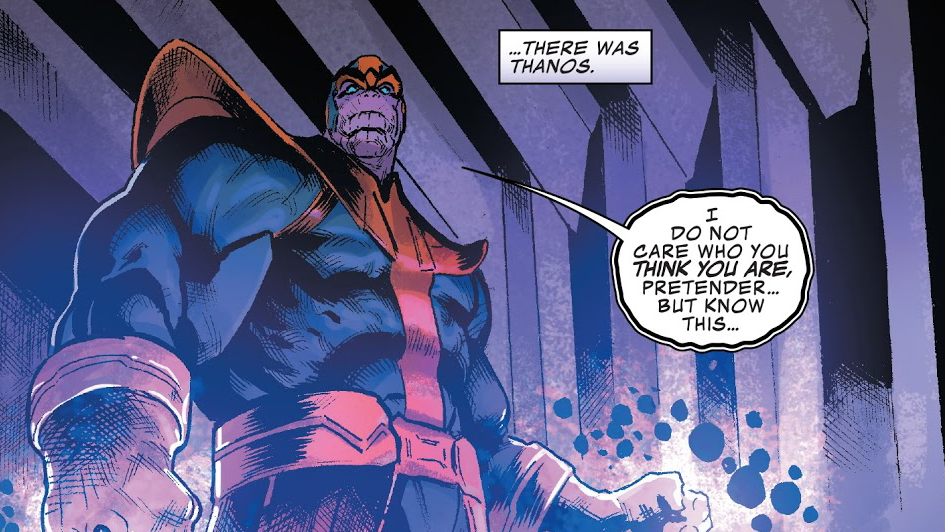 Thanos' Real Name Is Thanos And Everybody Needs To Calm Down