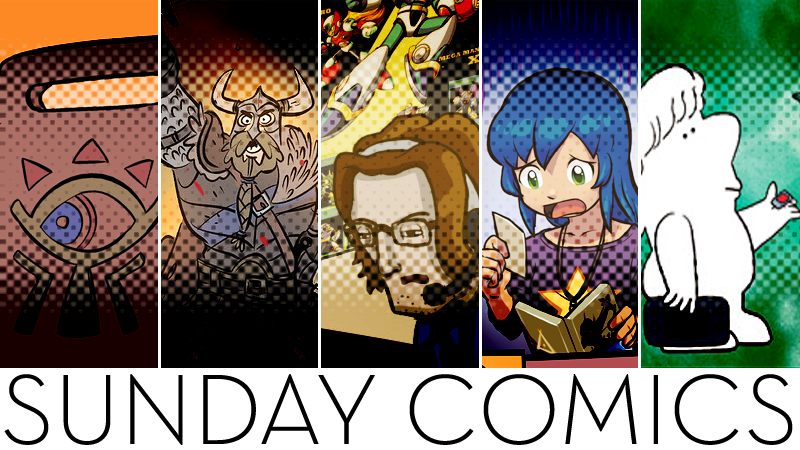 Sunday Comics: Your Shield Is Damaged
