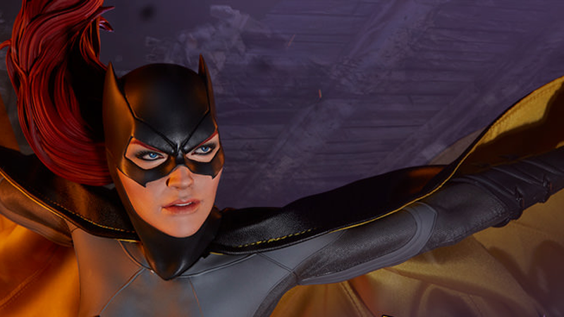 A Glorious New Batgirl Figure Is Swinging Into Action