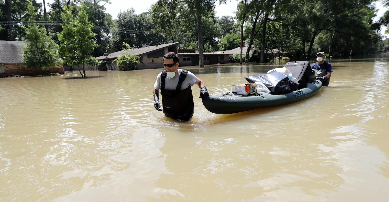 Houston Woman Dies From 'Flesh-Eating Bacteria' Left Behind By HurricaneHarvey
